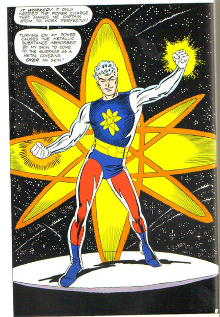Captain Atom transforms and his powers are reinvigorated!