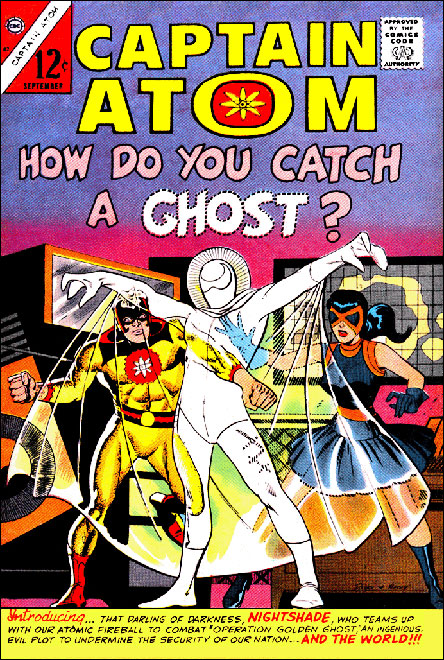Captain Atom 82 featuring Nightshade & the Ghost!