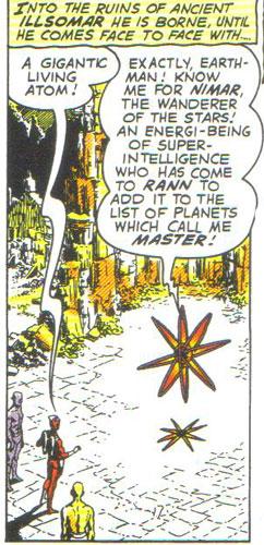 Nimar the living atom!