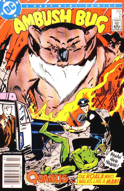 Ambush Bug #2 featuring a giant koala