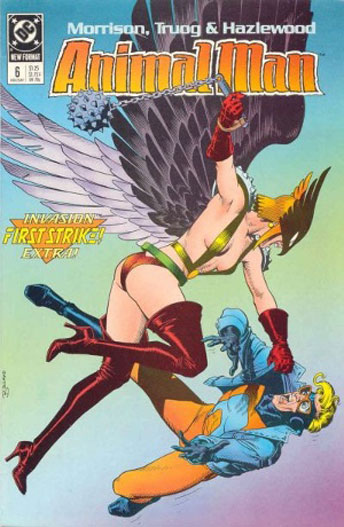 Animal Man issue 6, first series