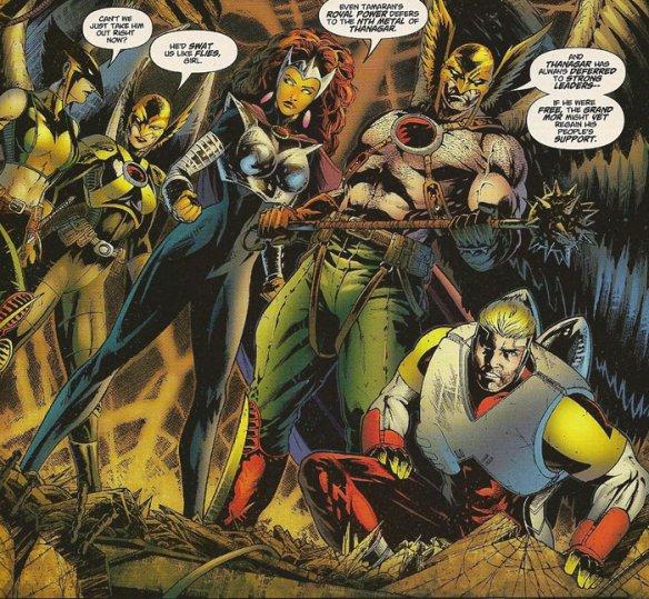 The Heroes of Rann-Thanagar War