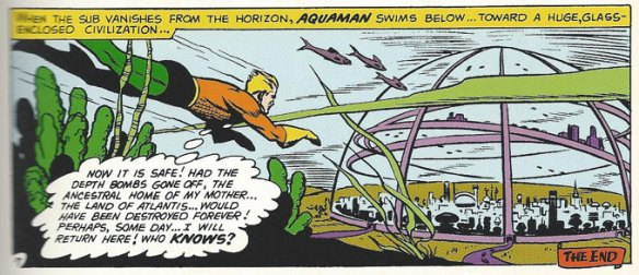 Aquaman saves Atlantis