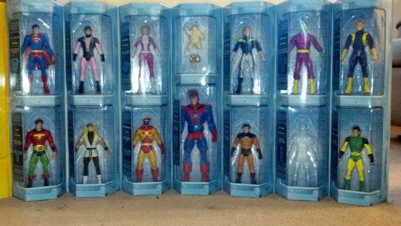 Legion figures on display