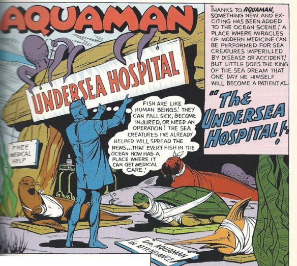 Aquaman's Undersea Hospital