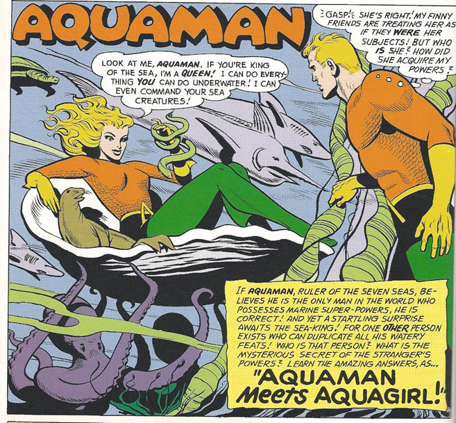 Aquagirl is introduced!