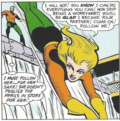 Aquagirl in action!
