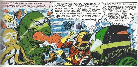 Topo and Green Arrow