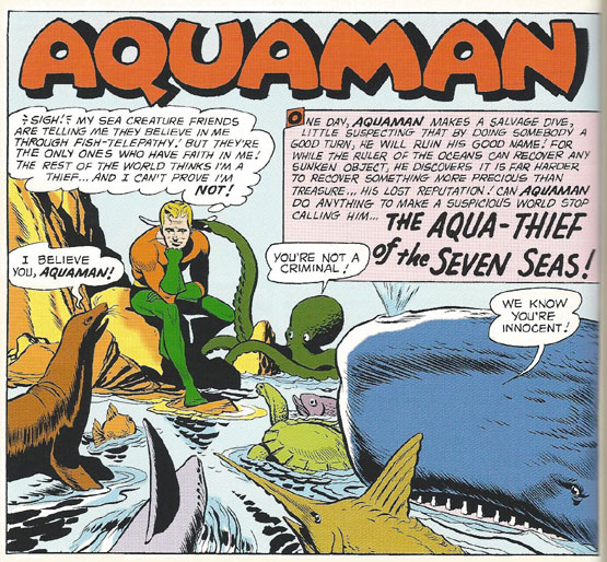 "Is Aquaman an ""Aqua-Thief?"""