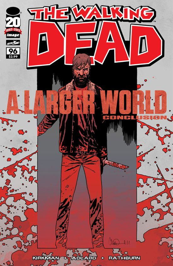 The Walking Dead #96 cover