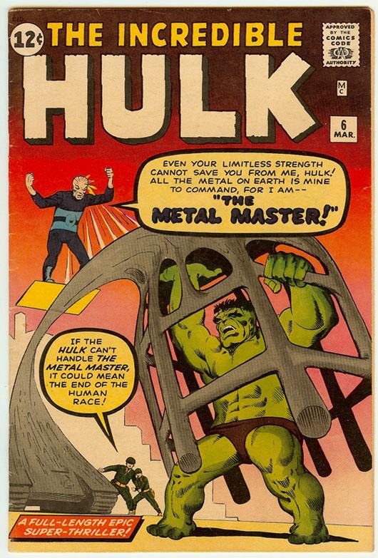 Incredible Hulk #6 by Steve Ditko