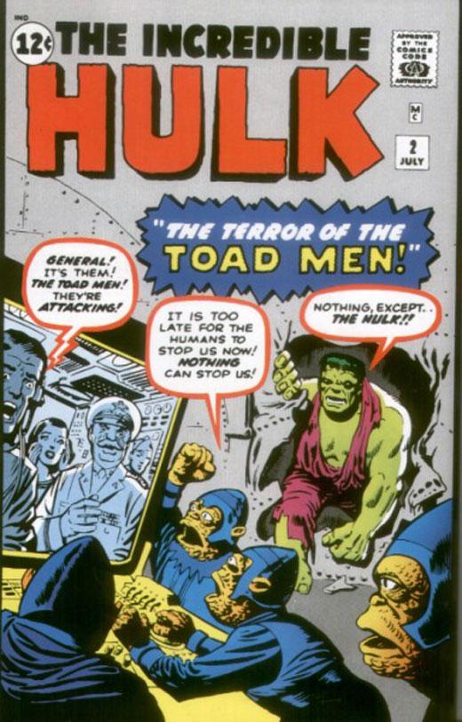 Hulk vs. Toad Men!