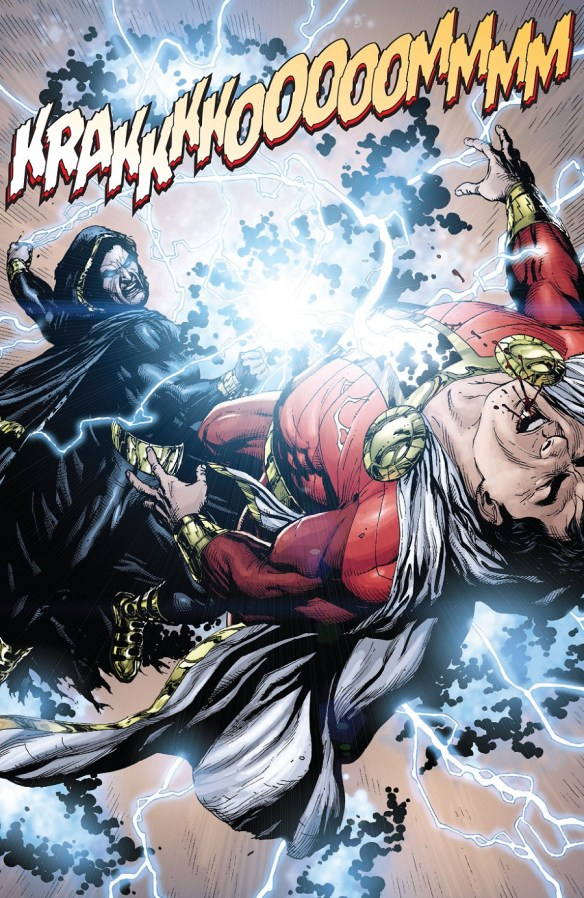 Black Adam punch!