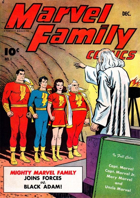 SHAZAM! It's the Marvel Family!