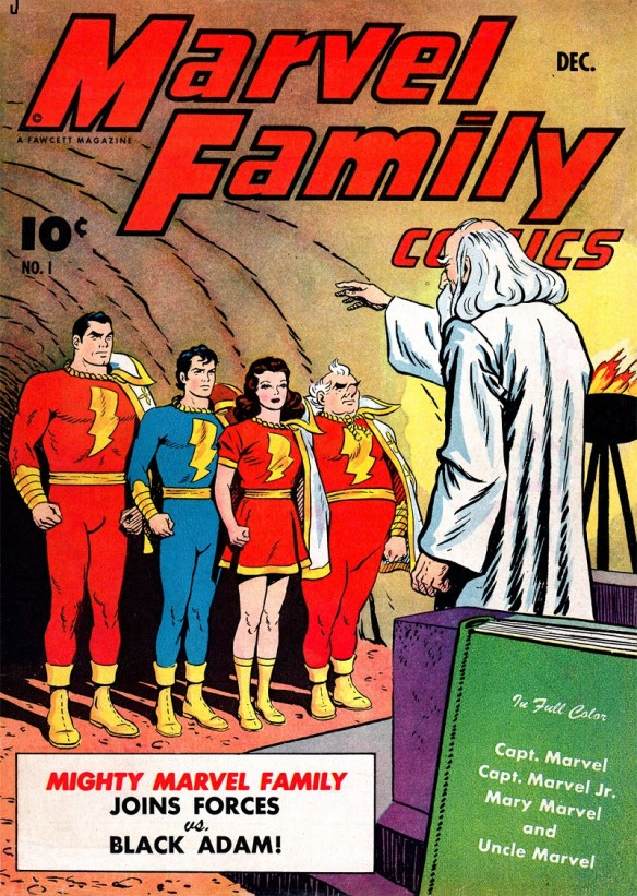 SHAZAM! It's the Marvel Family!
