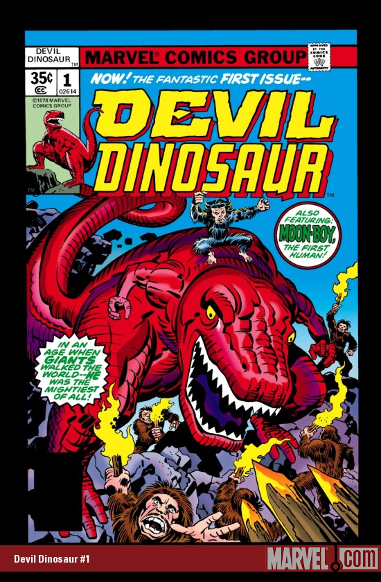 It's Devil Dinosaur