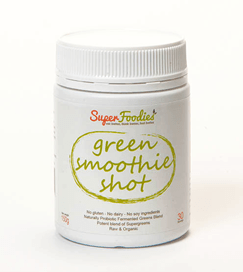 Green Smoothie Shot - fermented greens blend