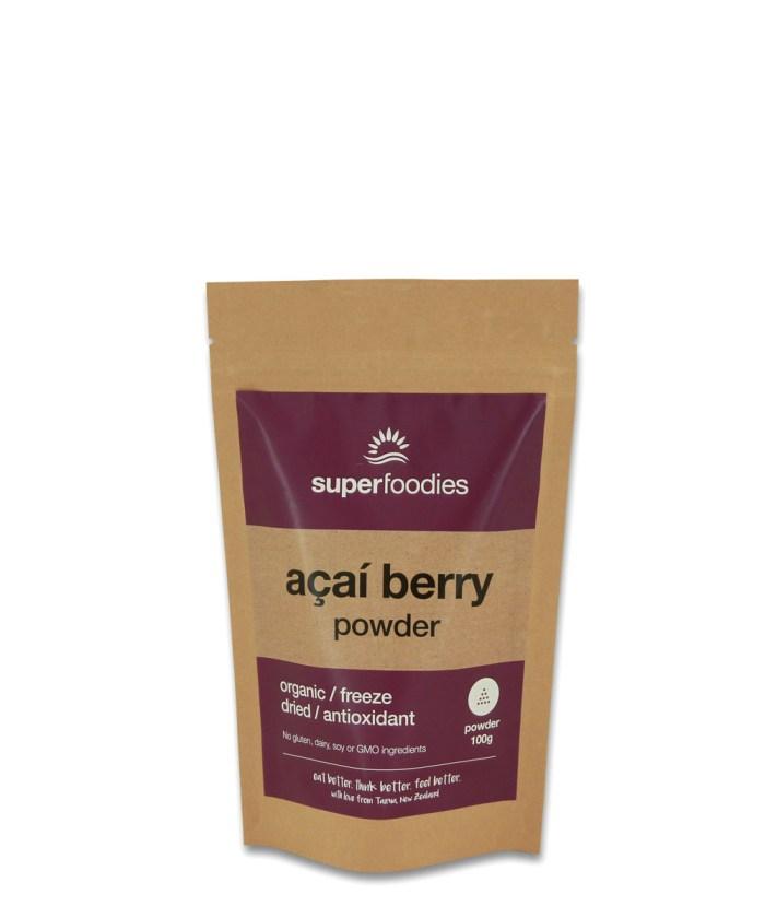 Acai Berry powder FRONT