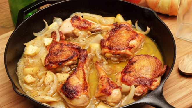 healthy chicken and apple recipe