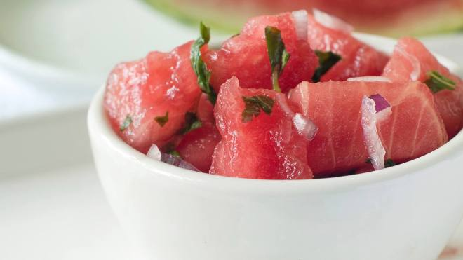 superfood salsa recipe Watermelon & Jalapeño Salsa