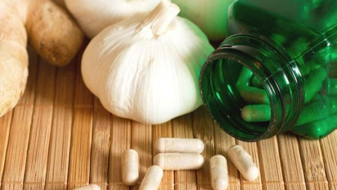 garlic as antibiotic