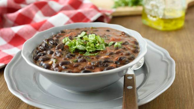 black bean soup superfoods