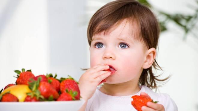 eating produce