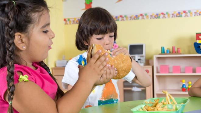 how much should a child eat a day