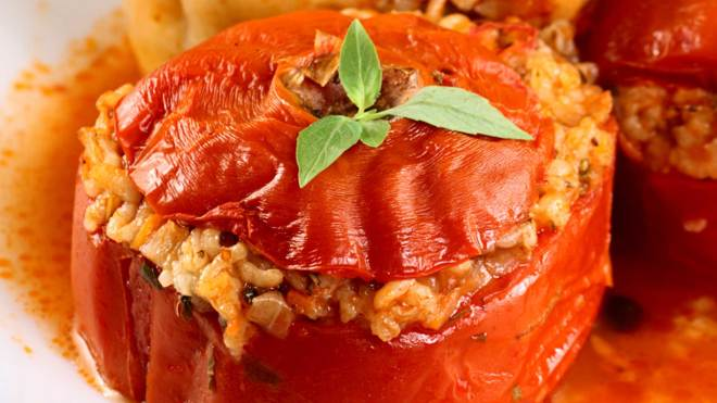 superfoods stuffed tomatoes