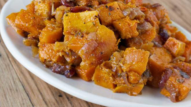 healthy roasted butternut squash