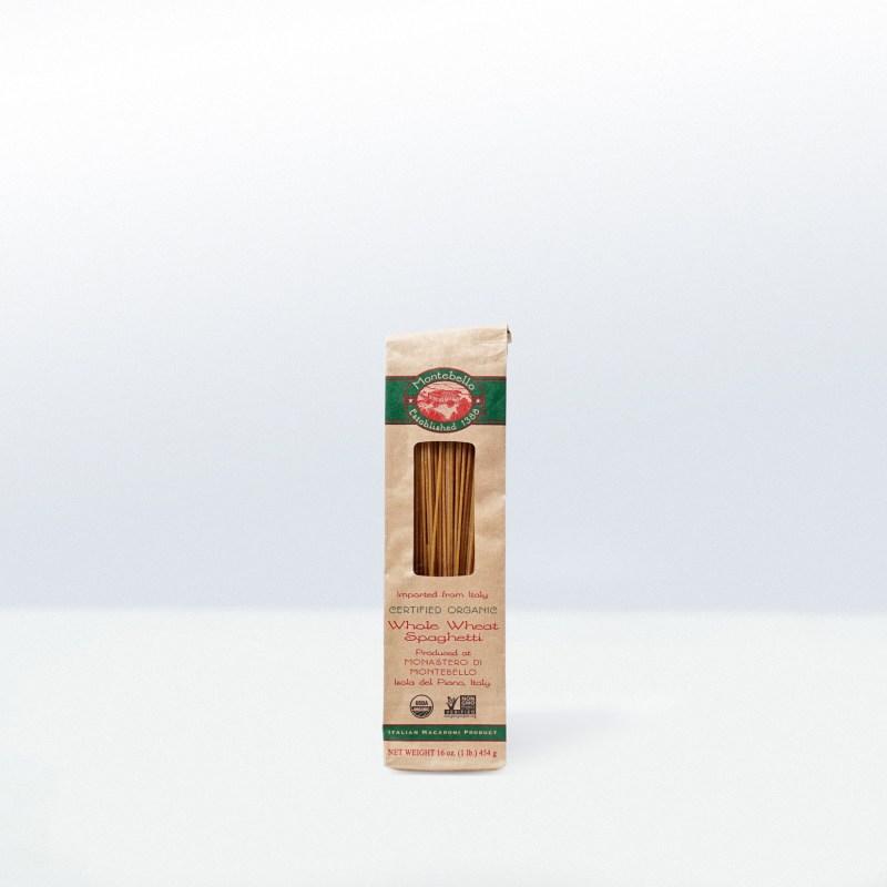 Montebello-Organic Whole WheatSpaghetti