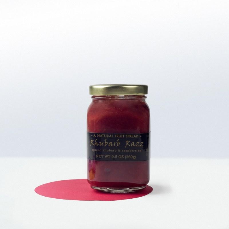 Mountain Fruit-Rhubarb RazzFruit Spread