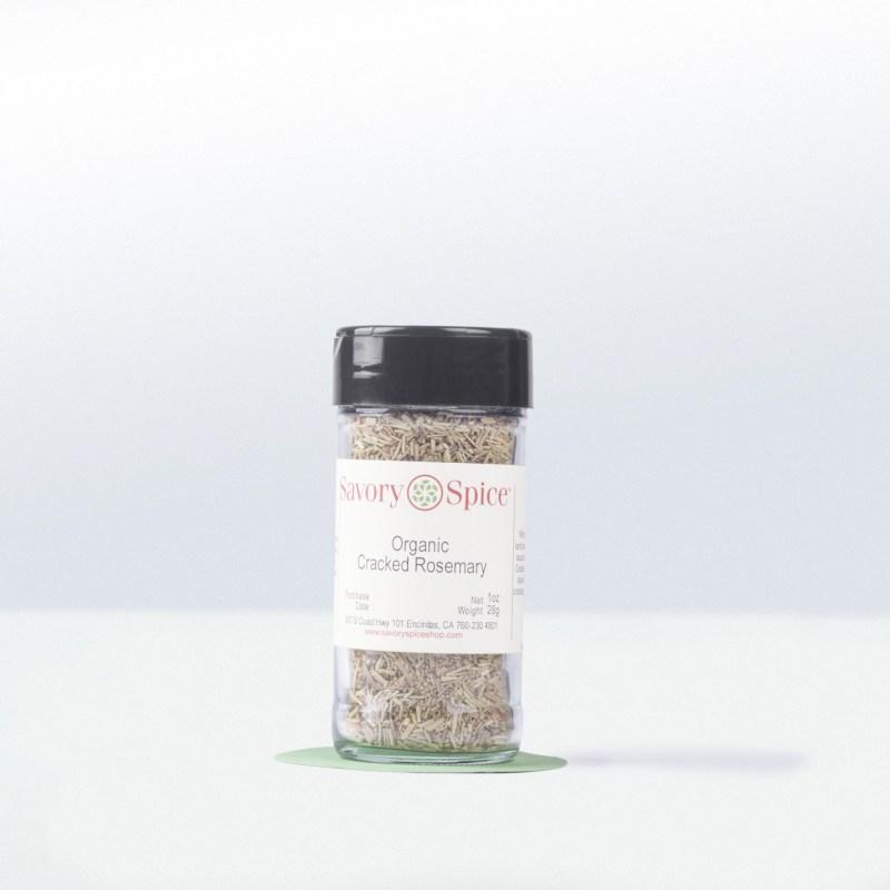 Savory Spice-Organic Cracked Rosemary