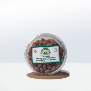 Tierra Farm-Organic Cocoa DustedDark Chocolate Almonds