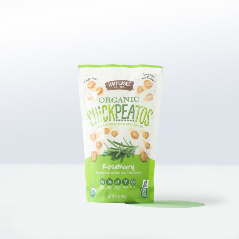 Watusee Foods-Organic Chickpeatos Rosemary