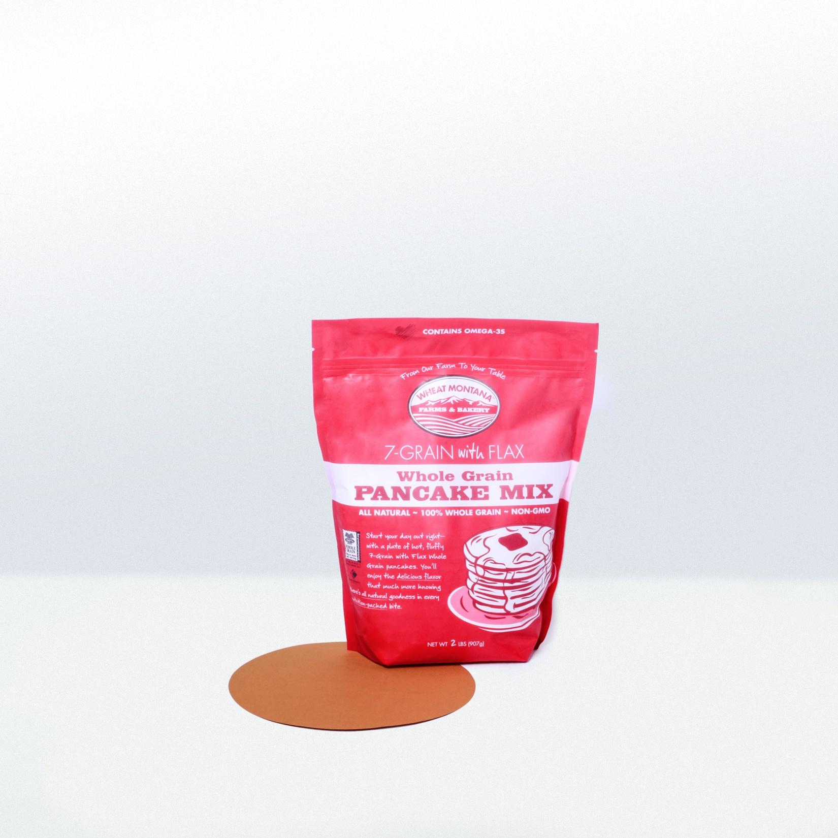 7 Grain with FlaxWhole Grain Pancake Mix SuperFoodsRx Change