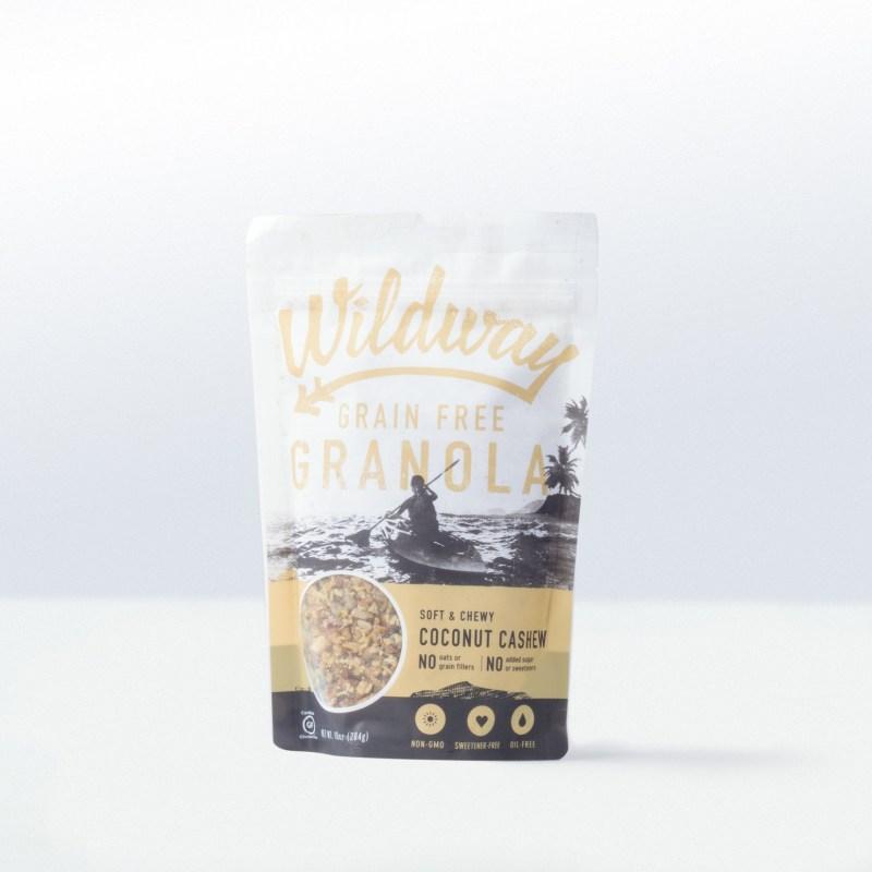 Wildway-Wildway Grain Free GranolaCoconut Cashew