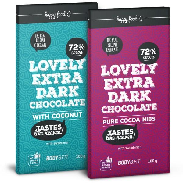 Smart Chocolate (0 Sugar & 72% cacao)