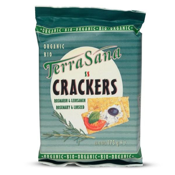 Crackers Rozemarijn & Lijnzaad (gistvrij)