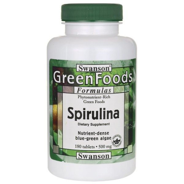 Greens Spirulina 500mg
