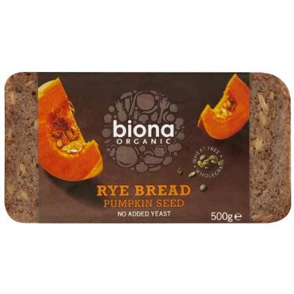 Rye /Pumpkinseed Bread