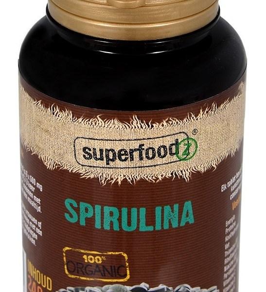 Spirulina 500 mg Bio RAW