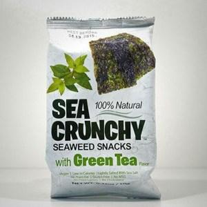 Sea Crunchy Snacks Groene Thee 10gr