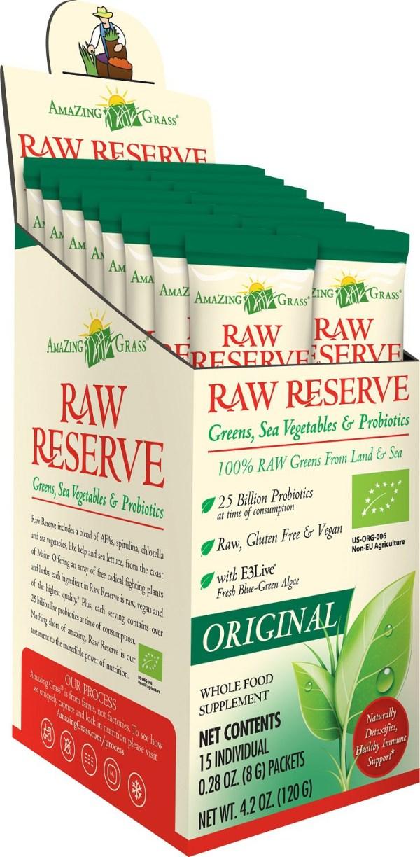 Amazing Grass Raw Reserve Original Sachets