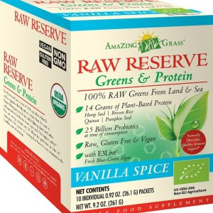 Amazing Grass Raw Reserve Vanilla Spice Sachets