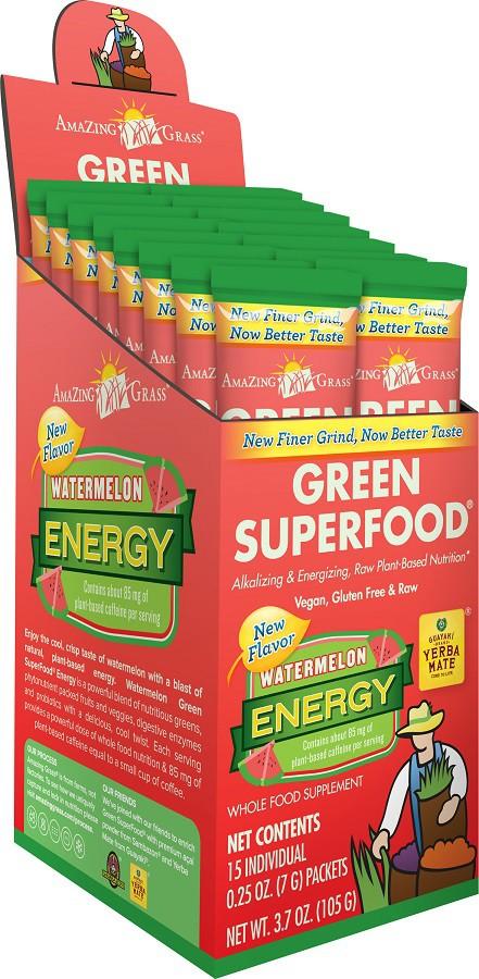 Amazing Grass Energy Watermelon Sachets