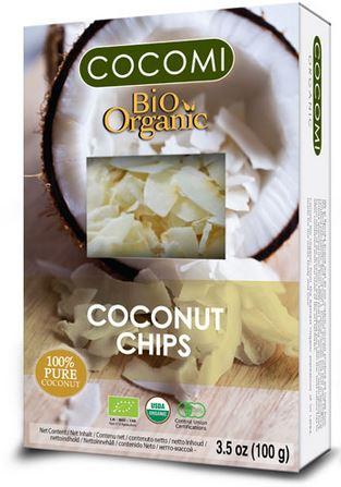 Organic Coconut Chips Raw Naturel