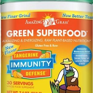 Amazing Grass Immunity Tangarine Poeder gezond?