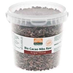 Bio Cacao Nibs Raw - 400 gram gezond?