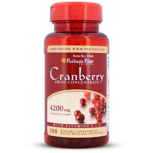 Cranberry Fruit Concentrate with C & E 4200 mg gezond?
